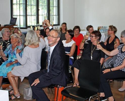 Winckelmann Akademie fuer Kunstgeschichte Muenchen, Abschlussfest Juni 2018-3