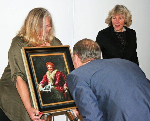 Winckelmann Akademie fuer Kunstgeschichte Muenchen, Abschlussfest Dezember 2014-1