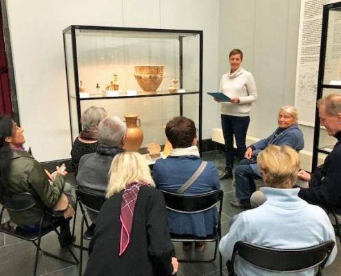 Winckelmann Akademie fuer Kunstgeschichte, Exkursion Antikensammlung 2019_11