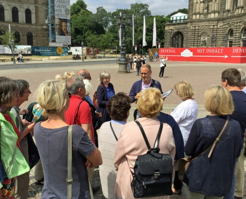 Winckelmann Akademie fuer Kunstgeschichte Muenchen, Exkursion Dresden, Juli 2018_3