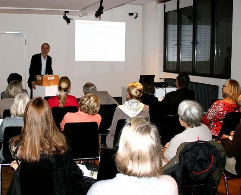 Winckelmann Akademie fuer Kunstgeschichte Muenchen, Infoabend Dezember 2011-2