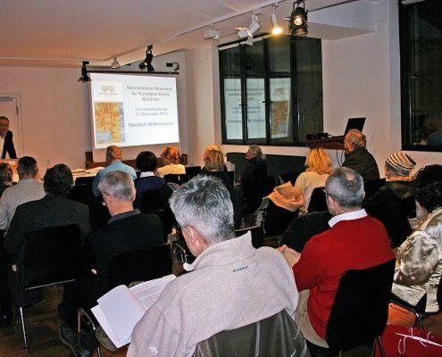 Winckelmann Akademie fuer Kunstgeschichte Muenchen, Infoabend Dezember 2014-3
