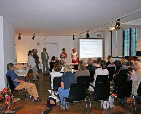 Winckelmann Akademie fuer Kunstgeschichte Muenchen, Infoabend Juli 2016-4