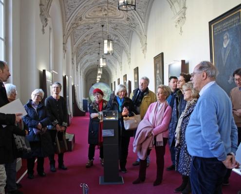 Winckelmann Akademie fuer Kunstgeschichte, Exkursion Residenz München, 2019 Januar 1