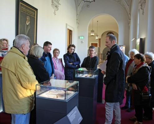 Winckelmann Akademie fuer Kunstgeschichte, Exkursion Residenz München, 2019 Januar 2