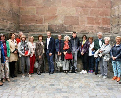 Winckelmann Akademie fuer Kunstgeschichte Muenchen, Exkursion Nuernberg Juli 2017