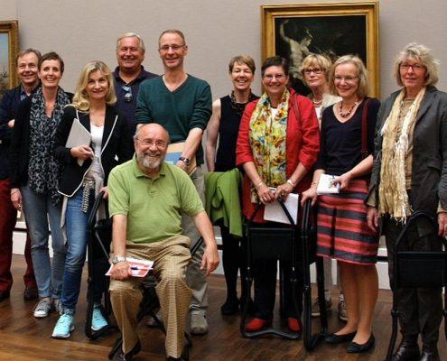 Winckelmann Akademie fuer Kunstgeschichte Muenchen, Exkursion Neue Pinakothek Oktober 2014-2