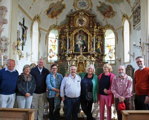 Winckelmann Akademie fuer Kunstgeschichte, Exkursion an den Simsee, Mai 2018, 1