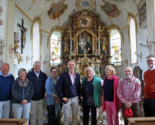 Winckelmann Akademie fuer Kunstgeschichte, Exkursion an den Simsee, Mai 2018, 2