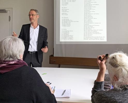 Winckelmann Akademie fuer Kunstgeschichte, Studientag 2019_05