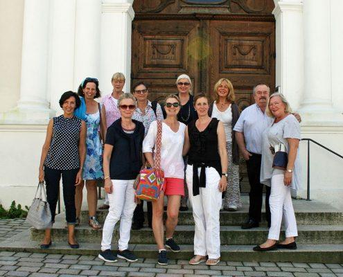Winckelmann Akademie fuer Kunstgeschichte Muenchen, Exkursion Weilheim August 2017-2
