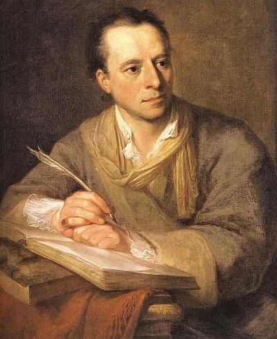 Johann Joachim Winckelmann ist der Namensgeber für die Akademie fuer Kunstgeschichte in Muenchen.