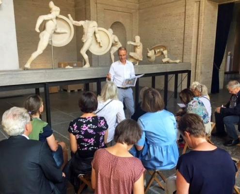 Winckelmann Akademie fuer Kunstgeschichte, Exkursion Glypothek 2018_09, 1