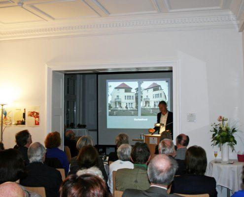 Winckelmann Akademie fuer Kunstgeschichte, Vortrag Bogenhausener Villenviertel, 2013, 1