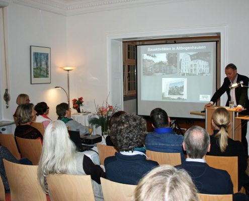 Winckelmann Akademie fuer Kunstgeschichte, Vortrag Bogenhausener Villenviertel, 2013, 3