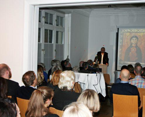 Winckelmann Akademie fuer Kunstgeschichte, Vortrag Kunst verstehen an der Gaertnerklinik, Maerz 2018, 1
