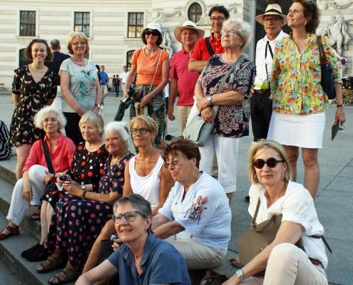 Winckelmann Akademie fuer Kunstgeschichte Muenchen, Exkursion Wien
